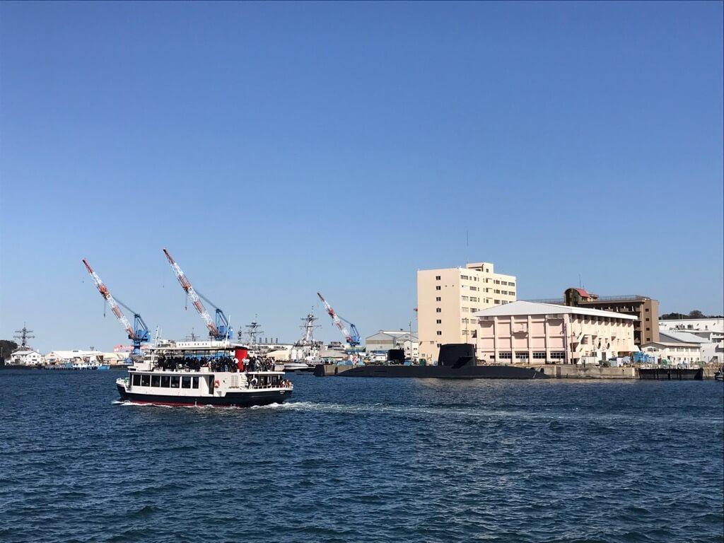軍港めぐり横須賀