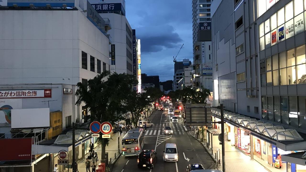 横須賀中央Yデッキ街