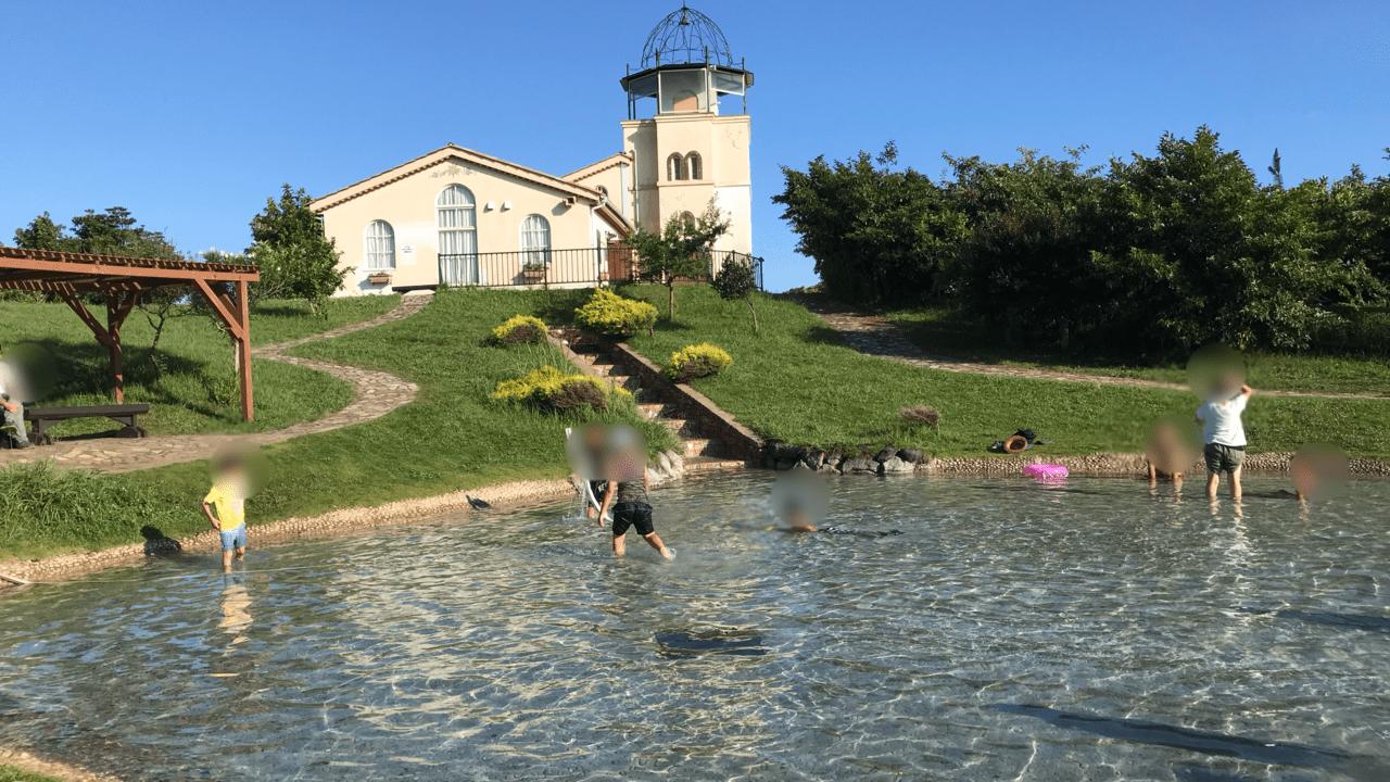 ソレイユの丘じゃぶじゃぶ池