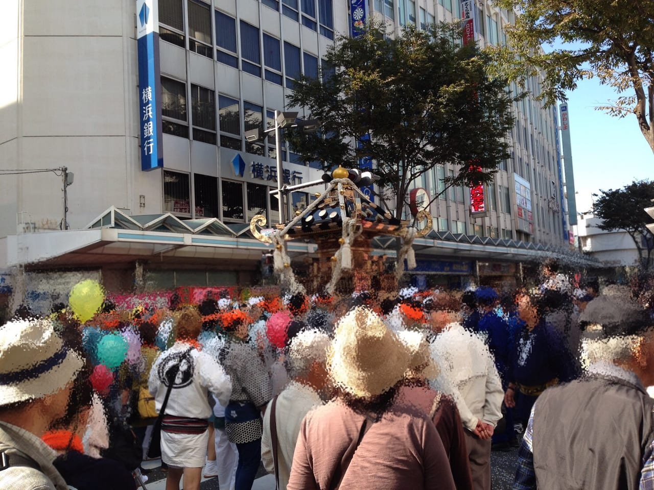 神輿パレード過去開催画像