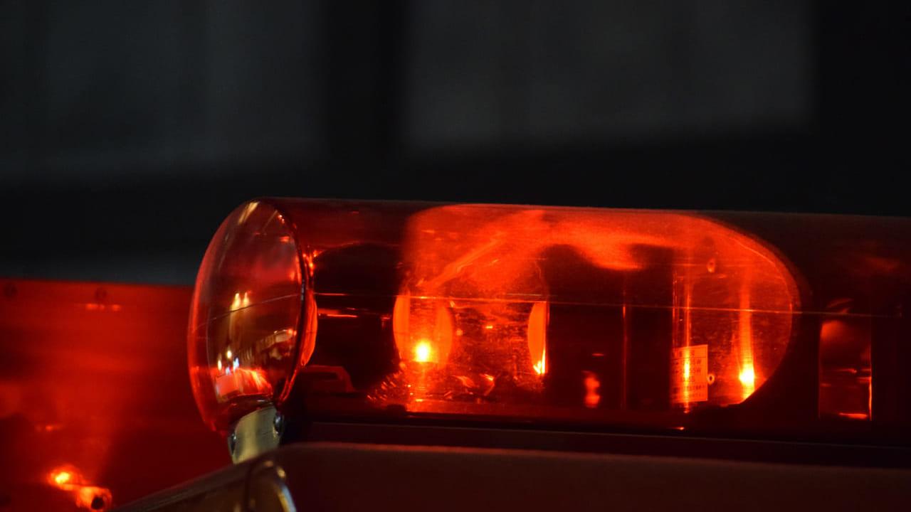 衣笠商店街付近火事
