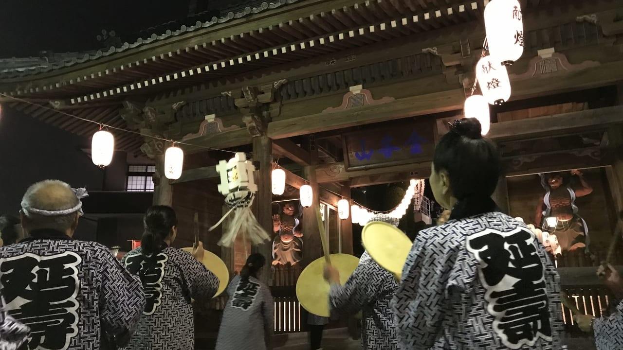 大明寺お会式行列