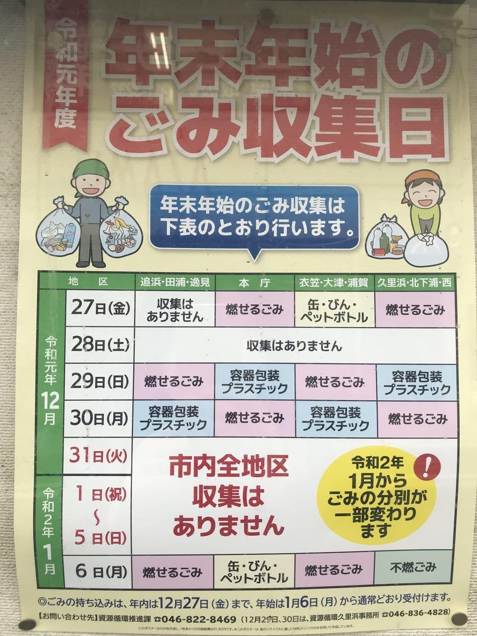 横浜 市 年末 年始 ゴミ