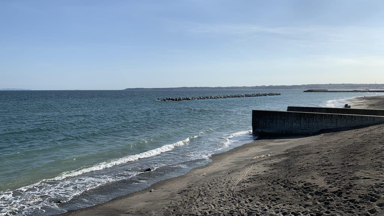 北下浦の海岸